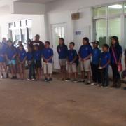 イナラハン小学校のみなさんがお礼に歌を歌ってくれました。